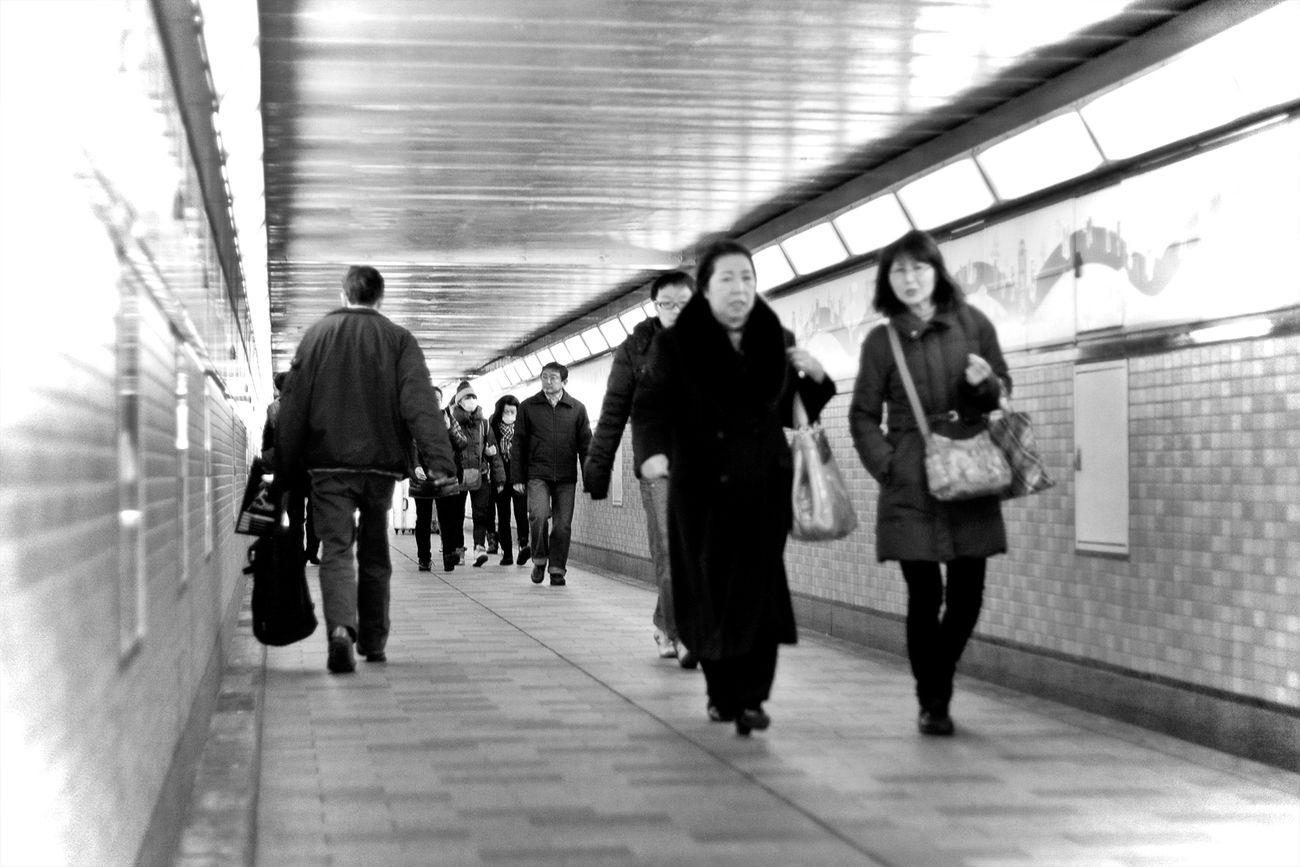 Japan Tokyo Tokyo,Japan Shinjuku ShinjukuStation People Streetphotography Underground Underground Passage