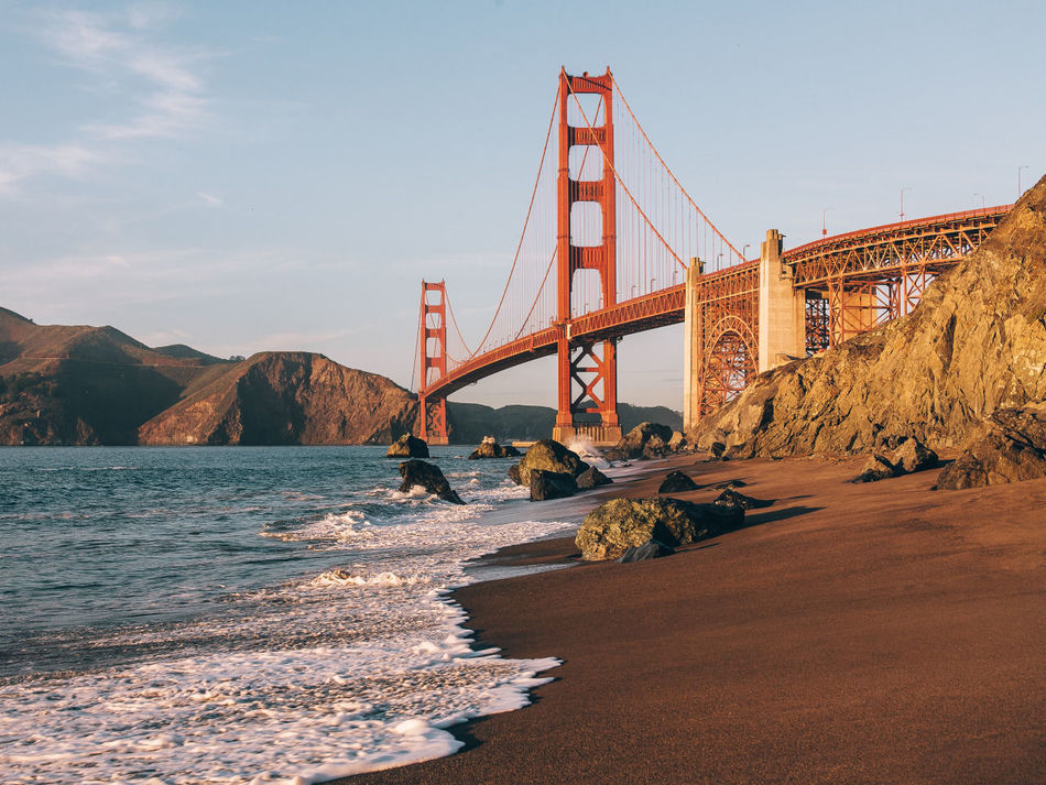 Beautiful stock photos of san francisco,  Architecture,  Bay Of Water,  Beach,  Blue