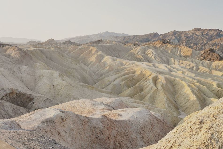 USA Death Valley Zabriskie Point California Landscape