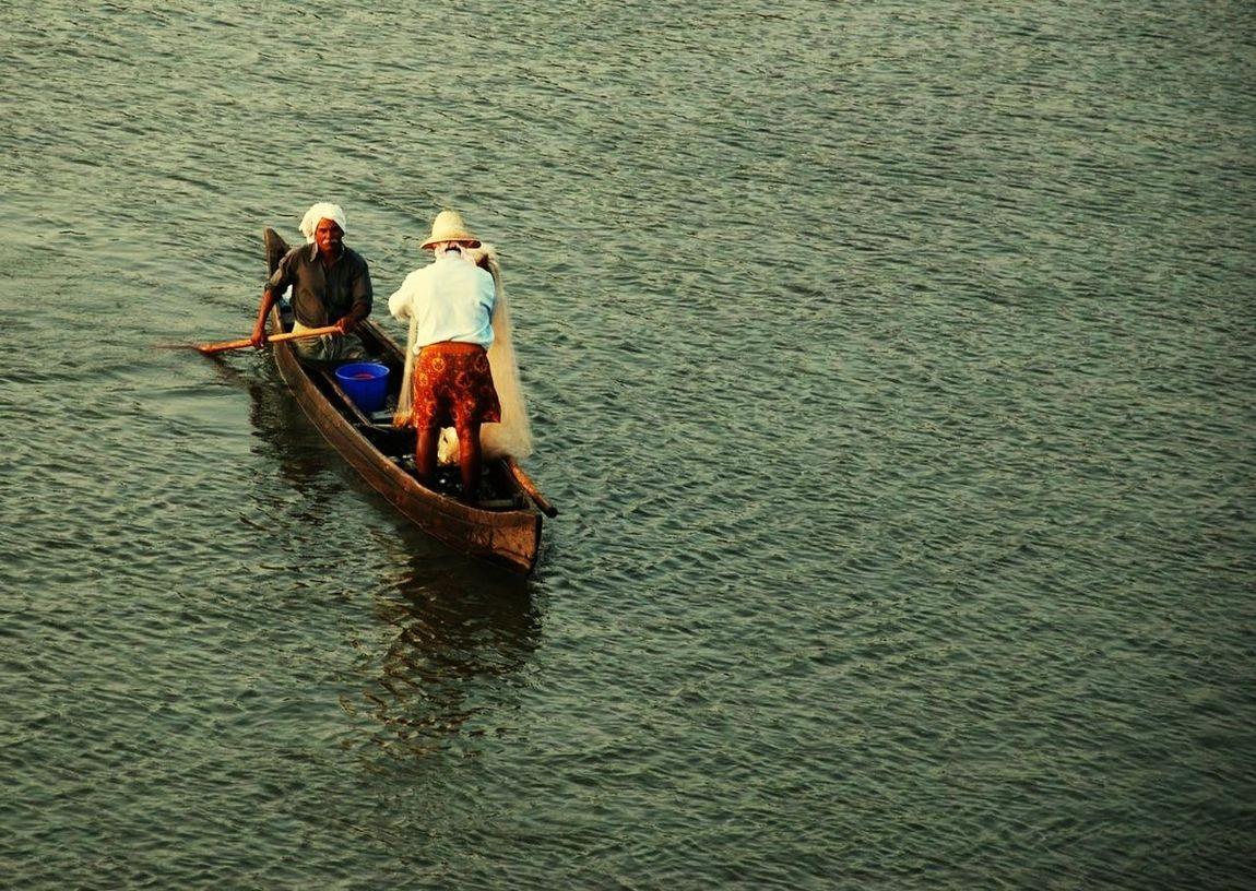 Fishing Fishing Net Vallarpadam Goshree Kochi Kochi, India Kerala EyEmNewHere