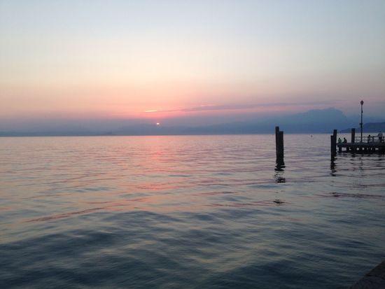 Sunset, Lake of Garda, Italy Relaxing