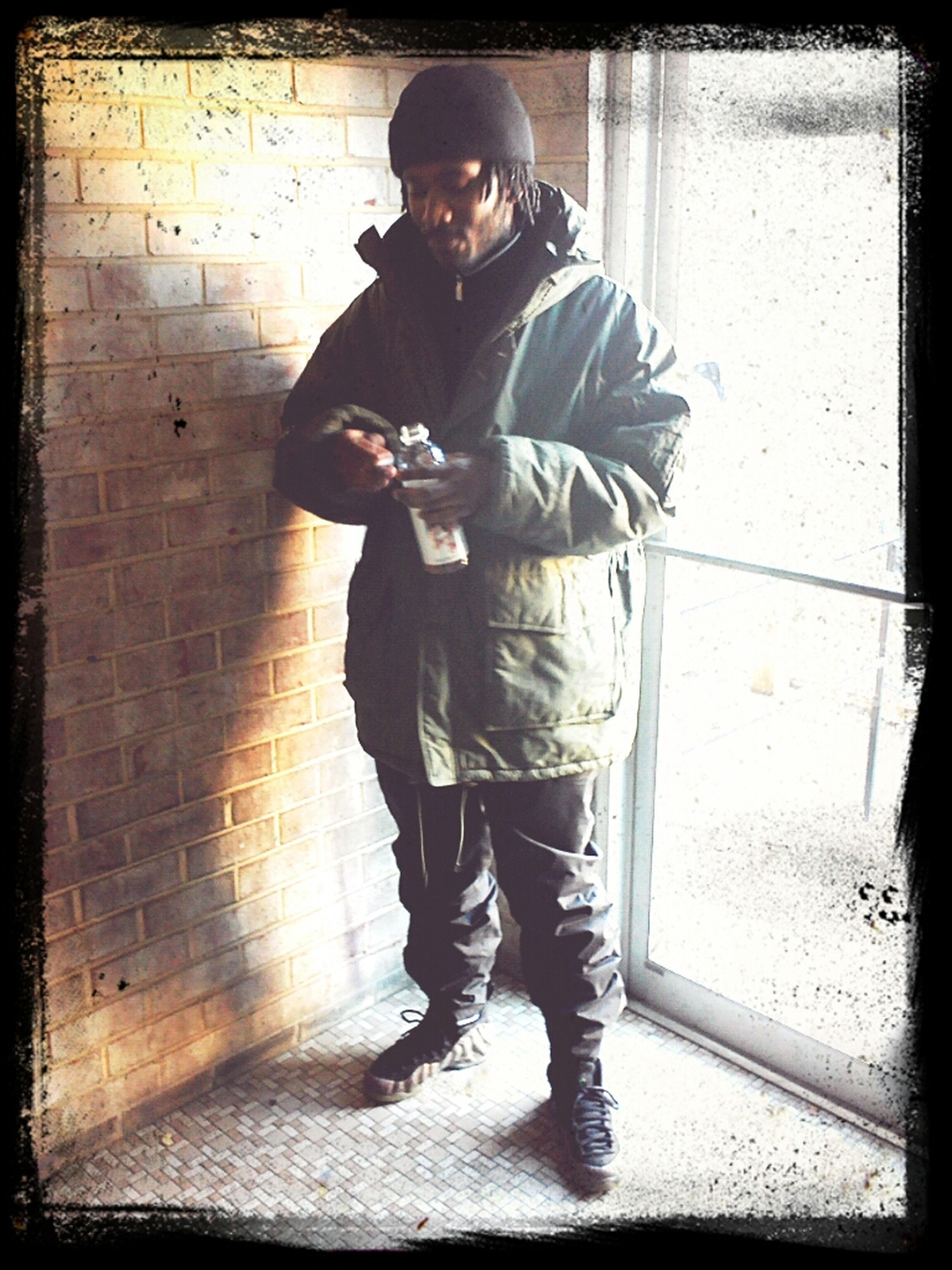 Big Man Coat Survive Thru The WinTer SeAsoN....#DroCitYShYt