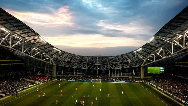 Ireland v Netherlands. .. Football Friday Nights Football Fever