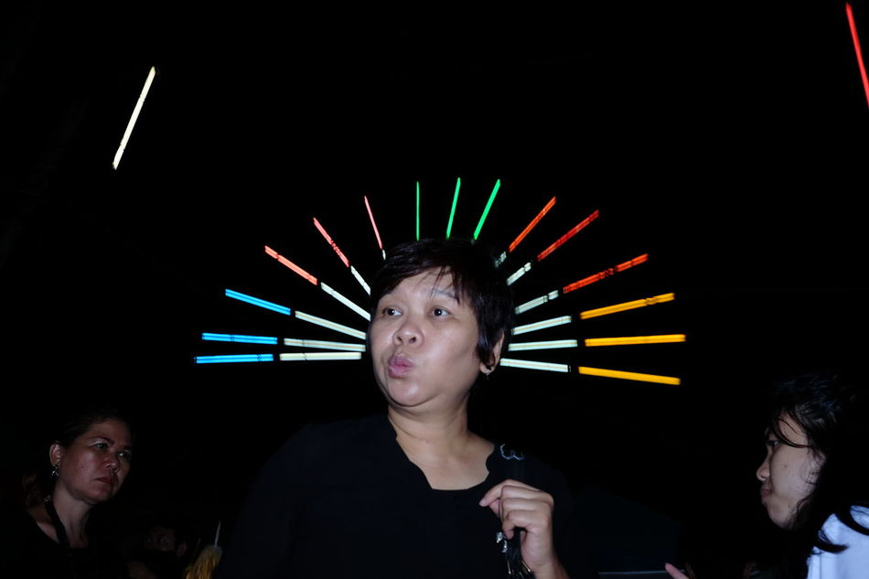 Streetphotography UNPOSED Surreal Neon Neon Lights