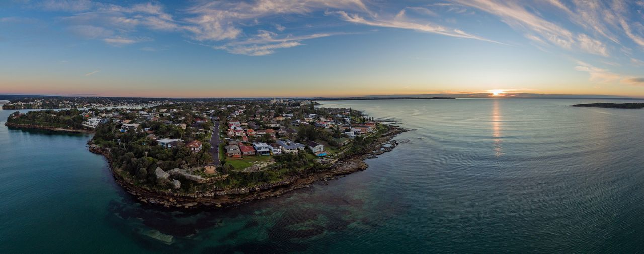 Beautiful stock photos of sonnenuntergang, Idyllic, aerial View, architecture, australia