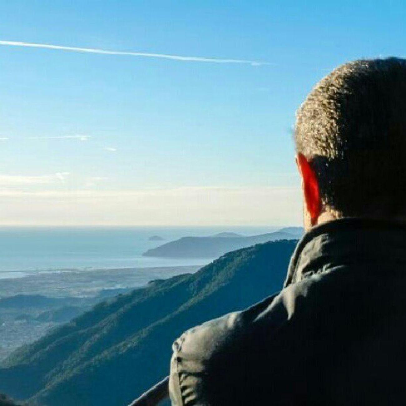 Guardare See Horizon Orizzonte sea mare massa toscana tuscany sky cielo blue blu infinity infinito