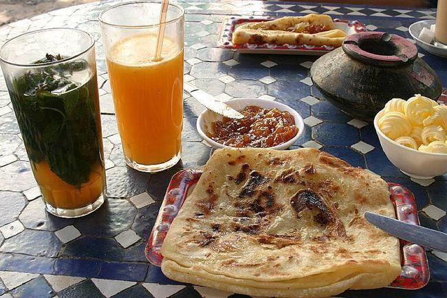 Morocco Breakfast Breakfast Food Porn Msemmen