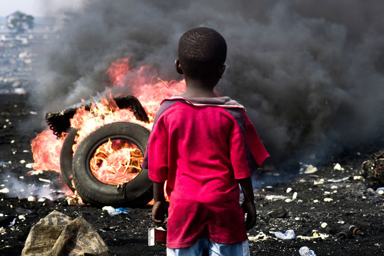 Abogbloshi Accra Africa Burning Dumping Rubbish Electronic Waste Enviormental Issues Enviornmental Awareness Environmental Damage Flame Hartship Health Healthy Eating Heat - Temperature Poisonous Pollution Rear View Unhealthy Waste Waste Incineration
