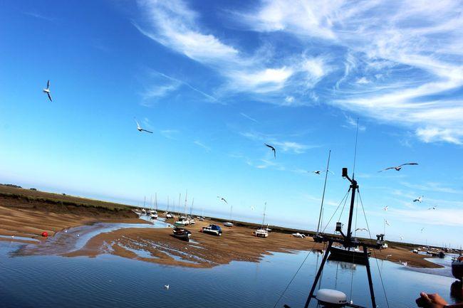 Beach Wells Boats Beautiful Summer Sea Sunshine Canon