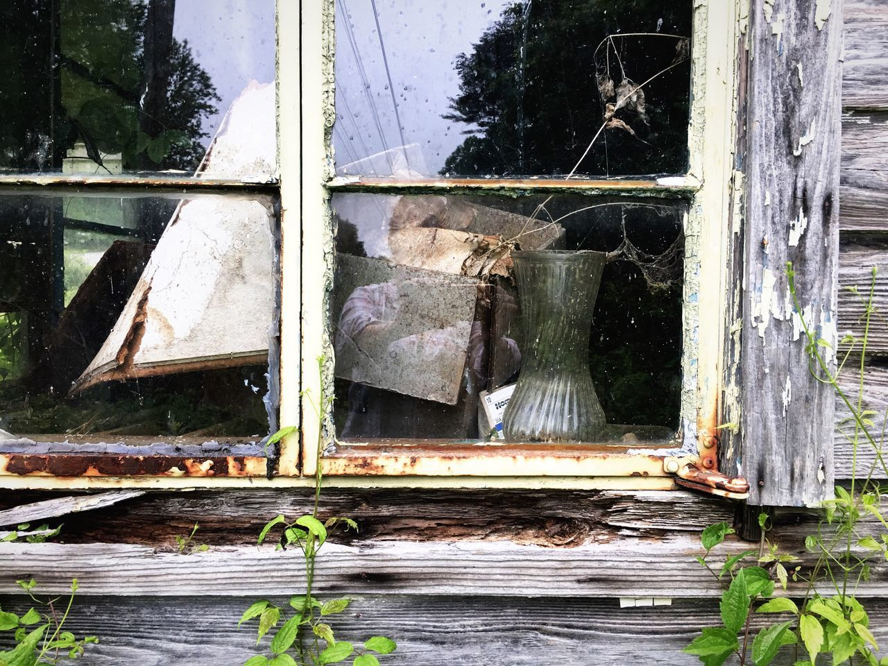 Window Destruction Architecture Close-up Outdoors Day Exterior Reflection Abandoned Countryside Abandoned & Derelict Appalachian Mountains