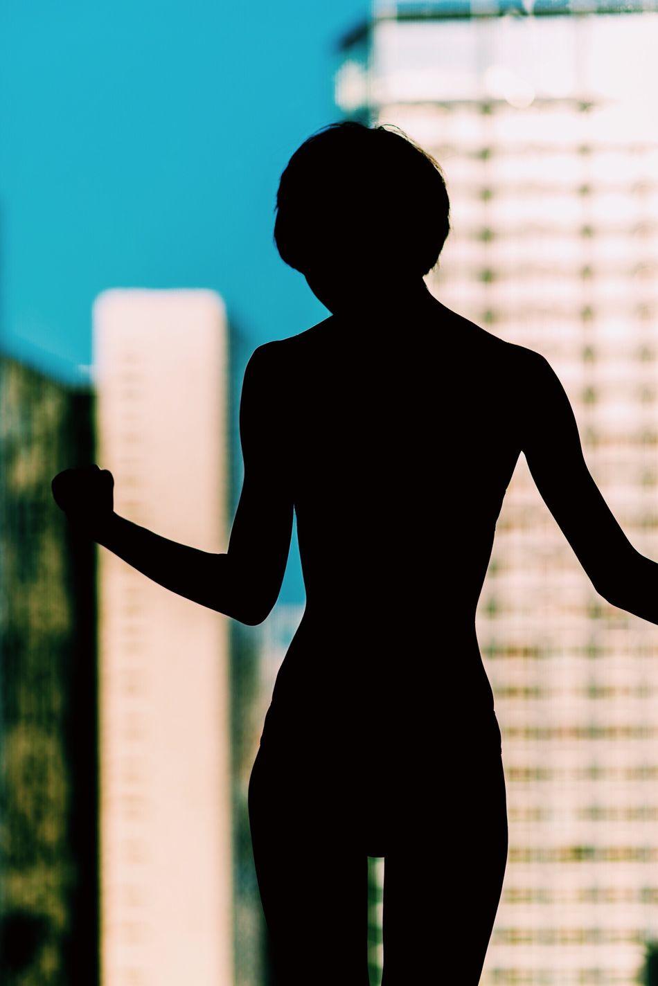 Silhouette Lifestyles Women Still Life Light And Shadow Portrait Photorhythm Tokyo Model Beautiful Woman Lingerie
