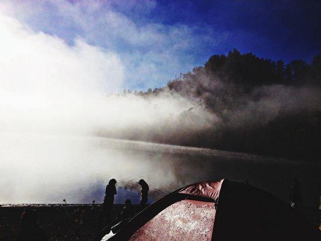 Only in Indonesia Gorgeous Ranukumbolo Hello World Mount Semeru