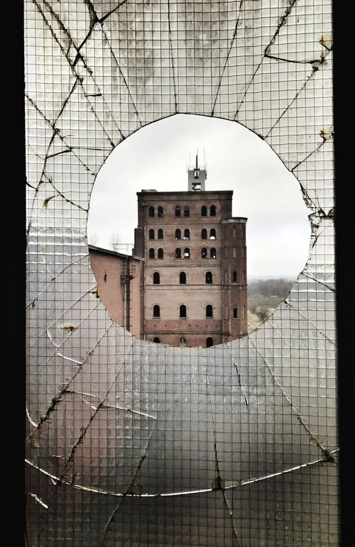 Architecture Built Structure Building Exterior Reflection No People Day Outdoors Distorted Image Broken Broken Glass Lostplaces Ruhrpott Ruhrgebiet The Secret Spaces