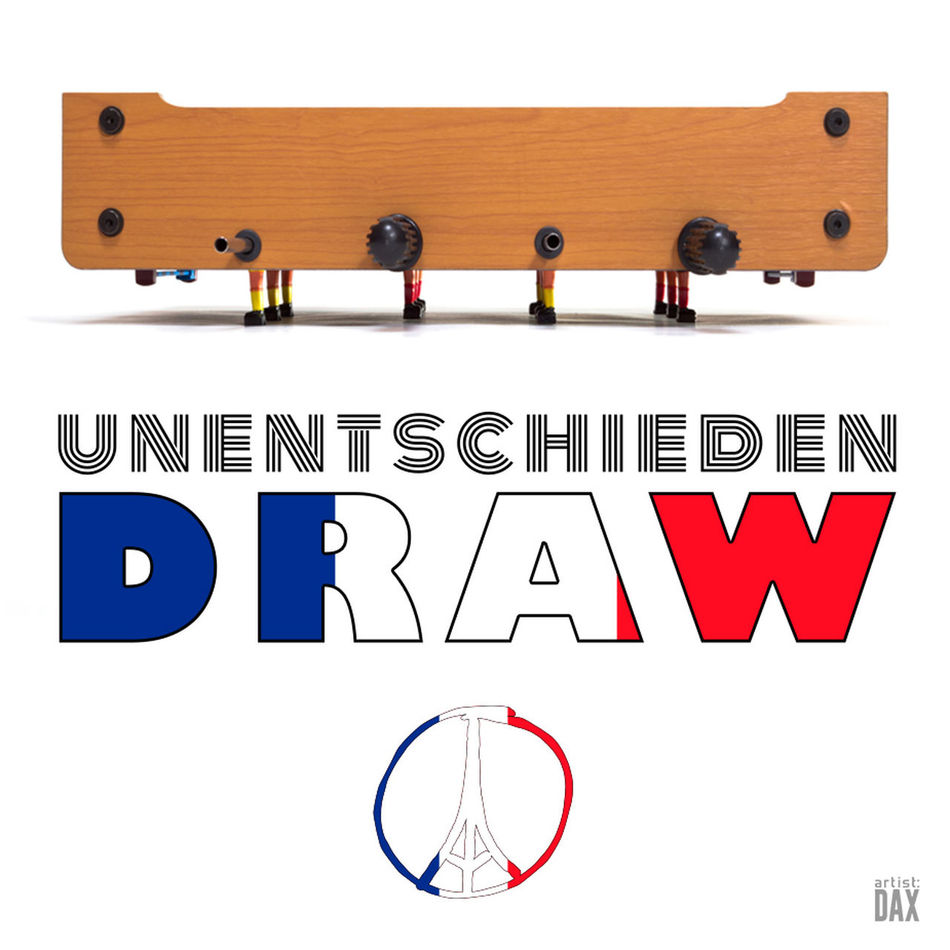 Unentschieden | Draw -- artist:DAX PHOTOGRAPHOHOLIC | born to capture | (The photographic artwork is a collaboration with my beloved wife - she got the idea/vision and my part was to take the photo... and the graphic work) ArtistDAX PHOTOGRAPHOHOLIC Graphicdesign Typography PeaceToTheWorld UEFA EURO 2016 UEFA Euro Cup 2012 Euro2016 Soccer Football Futbol UEFA Europe Europa Euro Diemannschaft Showcase: June Tischfussball Tablesoccer