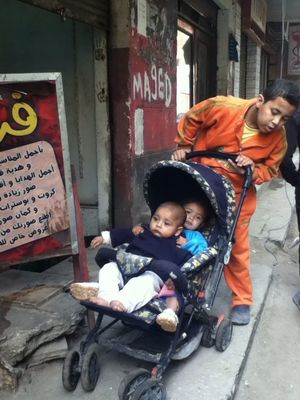 childhood in Cairo by NAR
