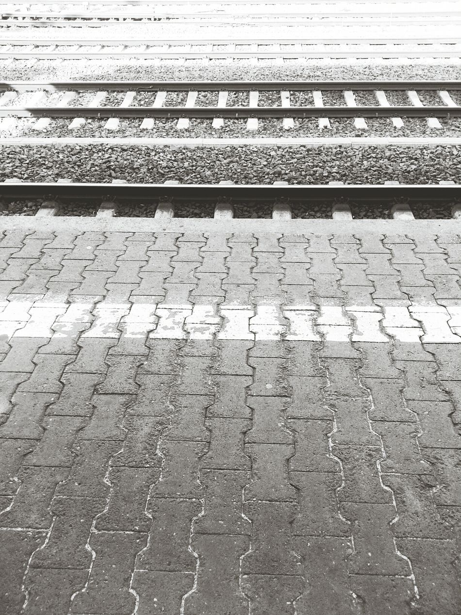 Train Station Black And White Good Morning Please Mind The Gap