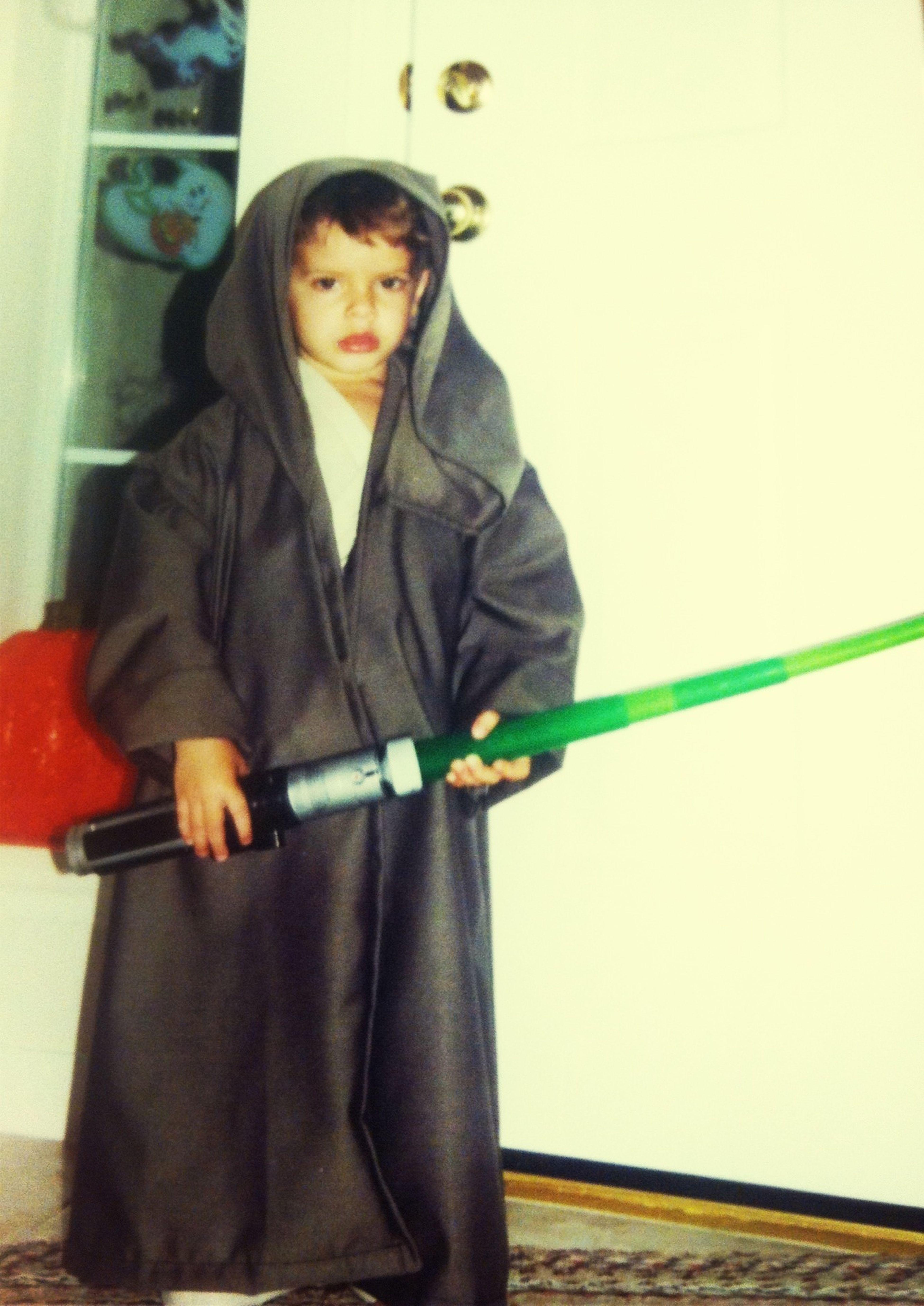 TBT - My Boog had mad Jedi skills!! Lol