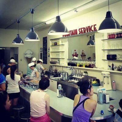 My favorite ice cream place in Vancouver. Glenburn Icecream Yum
