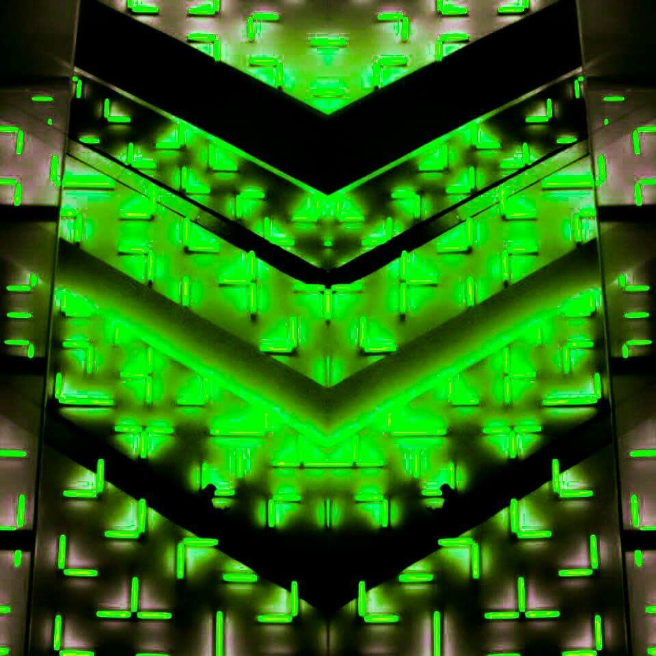 green color, illuminated, abstract, science, symmetry, technology, backgrounds, pattern, communication, no people, data, complexity, black background, cyberspace, futuristic, close-up, network server, mother board, day