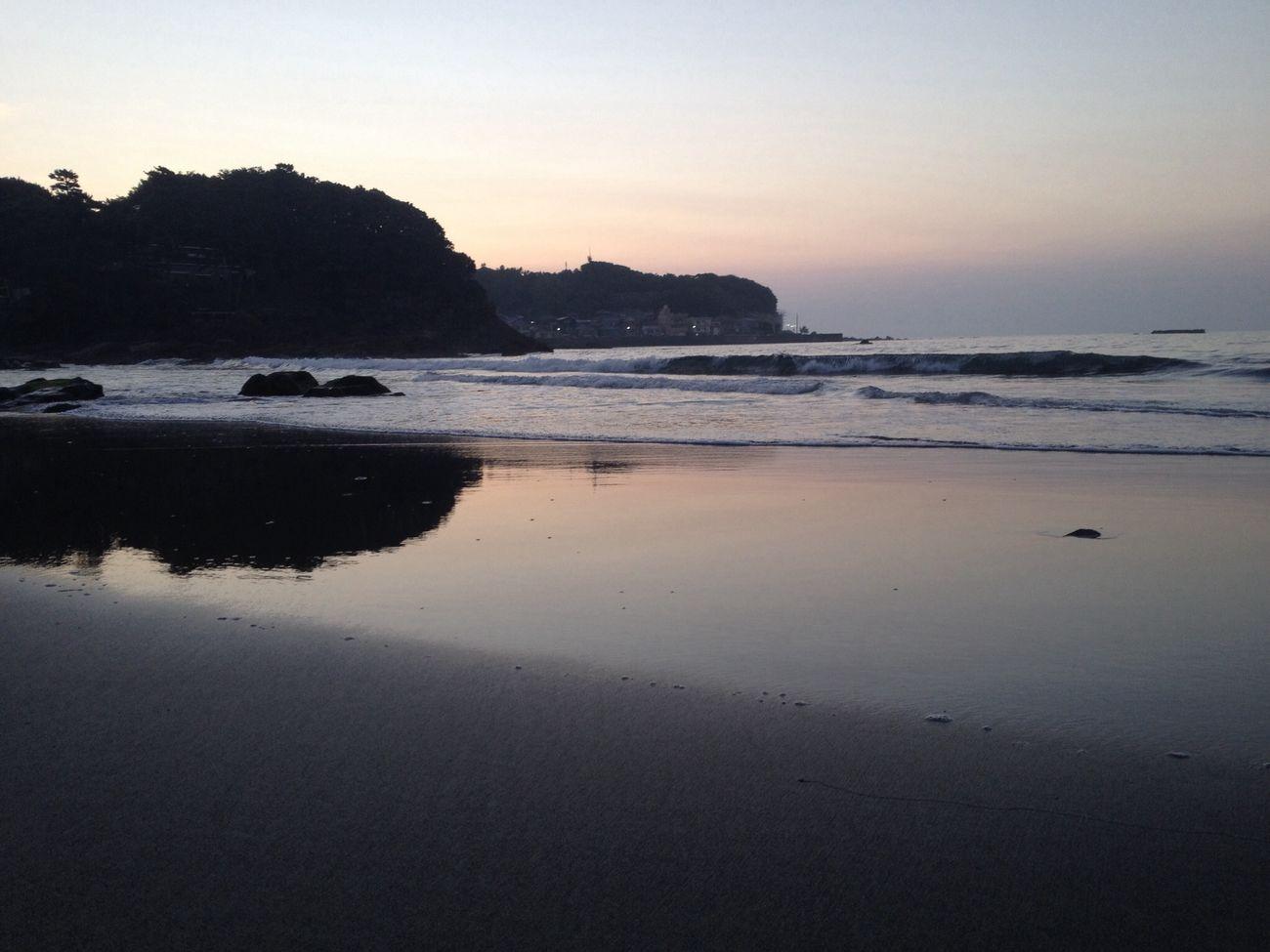 Sunrise Beach Summer Relaxing Good morning!!4:30am,IZU Imaihama-beach