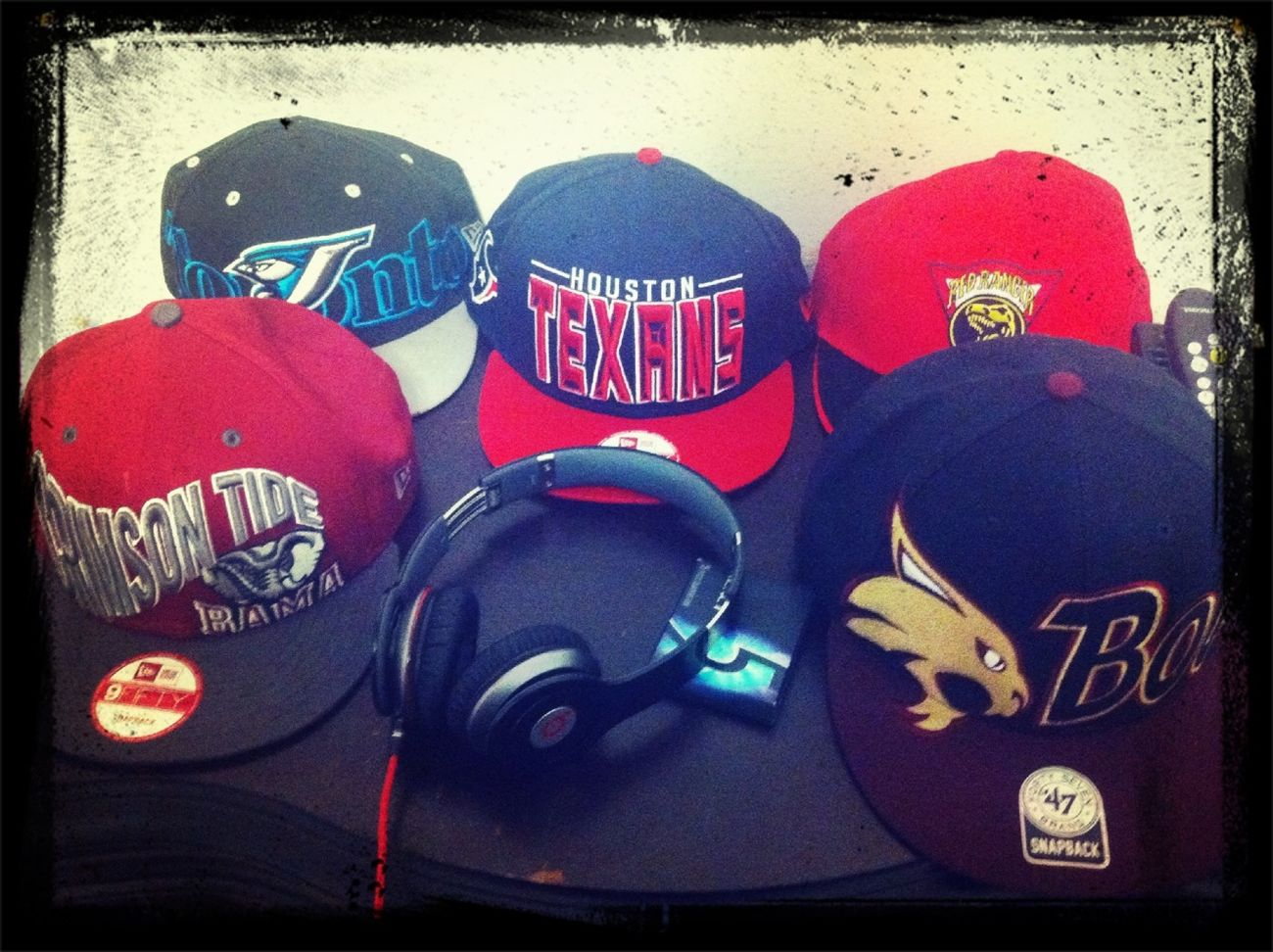 SnapBack game crazy, bluejays, texans, Bama, Texas st. And power rangers