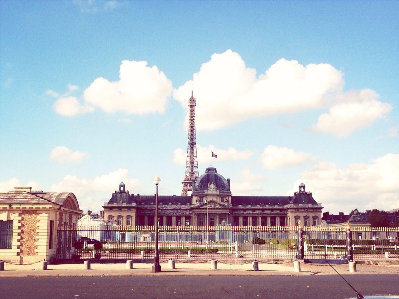 Paris Sky Skyporn Architecture