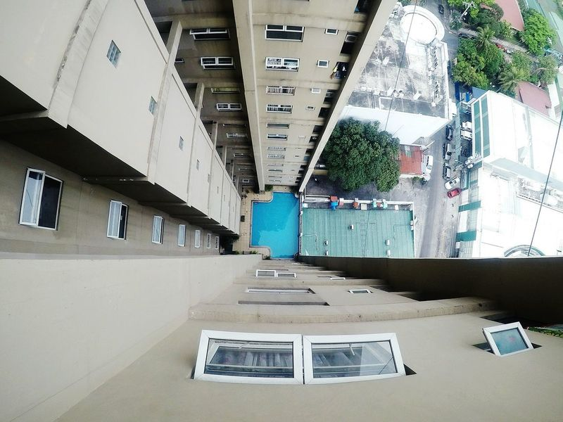 Swimming Pool Builiding High Angle View Windows No People Day Eyeem Philippines