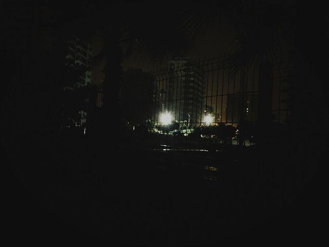 Light in the shadows Night Dark City Outdoors 2 AM