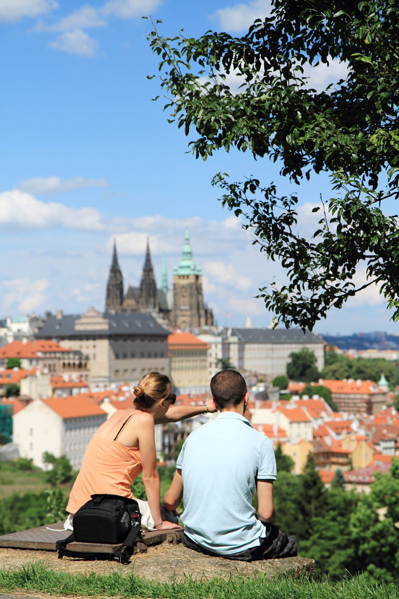 Beautiful stock photos of prague, two people, heterosexual couple, young men, young adult