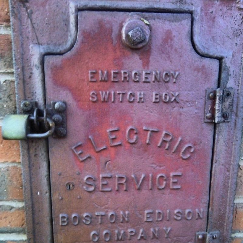 Edison Electrical Switchbox Boston ma