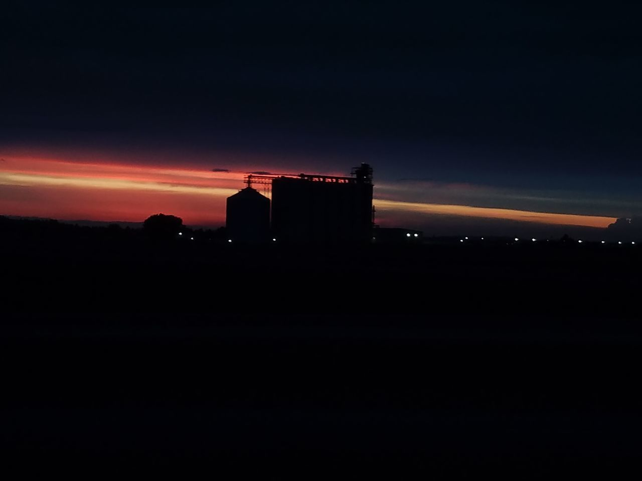 Architecture Bright Building Exterior Built Structure EyeEmNewHere Illuminated Industrial Industrial Landscapes Nature Night No People Outdoors Silhouette Sky Sunset Live For The Story Cellphone Photography Out Of The Box Place Of Heart No Edit/no Filter Cellphone