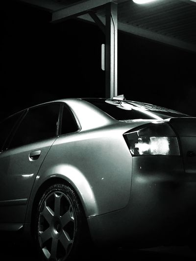 Obscure Blackandwhite Nightphotography Audi S4 Audi S4 Car Taking Photos Quattro Taking Photos