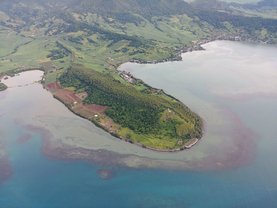 Aerial View Water No People Outdoors Beauty In Nature Day Nature Sky Blue Water LG G6 Helicopter Nofilter Mauritius Scenics Landscape Mountain High Angle View
