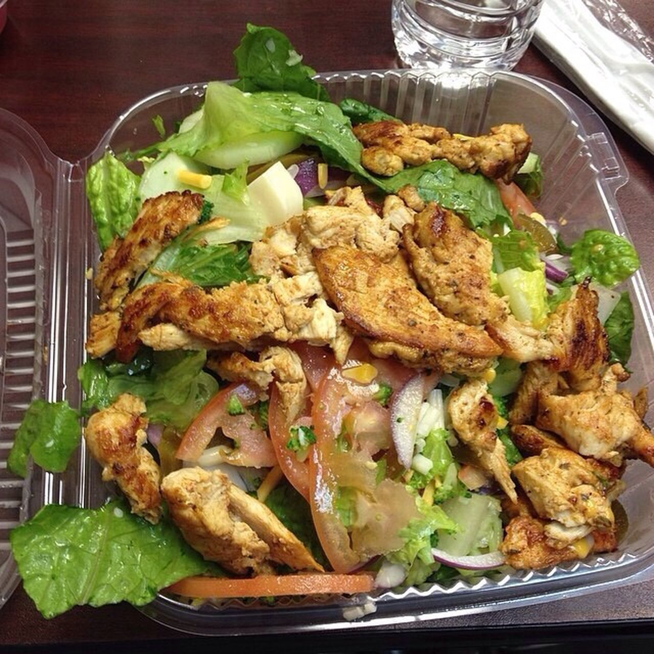 Food Porn Grilled Chicken Salad Salad Eating Healthy