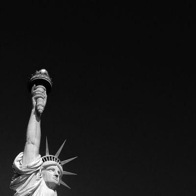 Monochrome Photography USA Statue Of Liberty Minimalism USA Photos