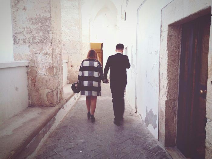Wedding Walking Together Hands In Hands Togetherness Together Forever Juntos Uniti Unione Matrimonio