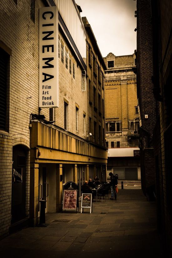 Cinema verite Newcastle Upon Tyne Alley City Cinema Picturehouse Colour Warmth Golden Street Cafe Arthouse  Independent