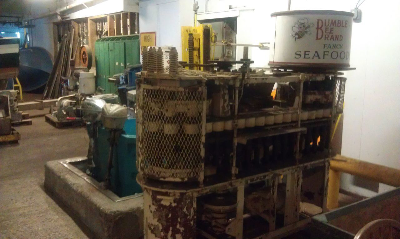 Cannery Close-up Day Factory Indoors  Industry Manufacturing Equipment No People Technology Tuna