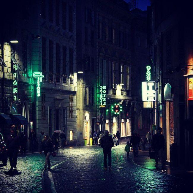 Remembering Genoa.. <3 100happydays Day37 Genova Genoa instacity raining b&w grata Godisgood