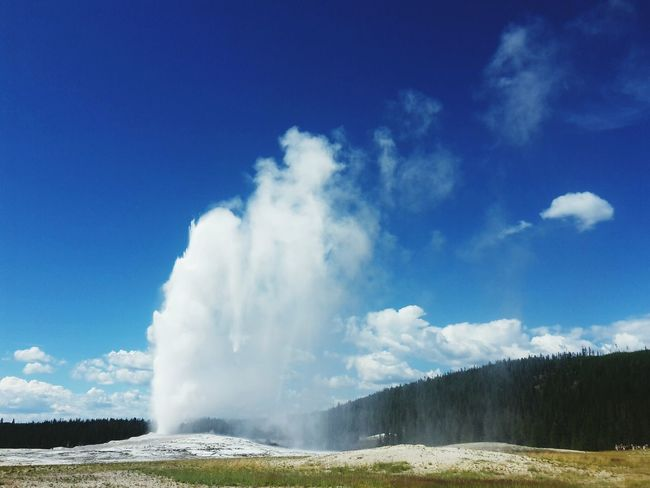 Old Faithful Geyser Portrait Of America From Where I Stand EyeEm Best Shots Hello World Nationalpark Check This Out Nature_collection EyeEm Nature Lover