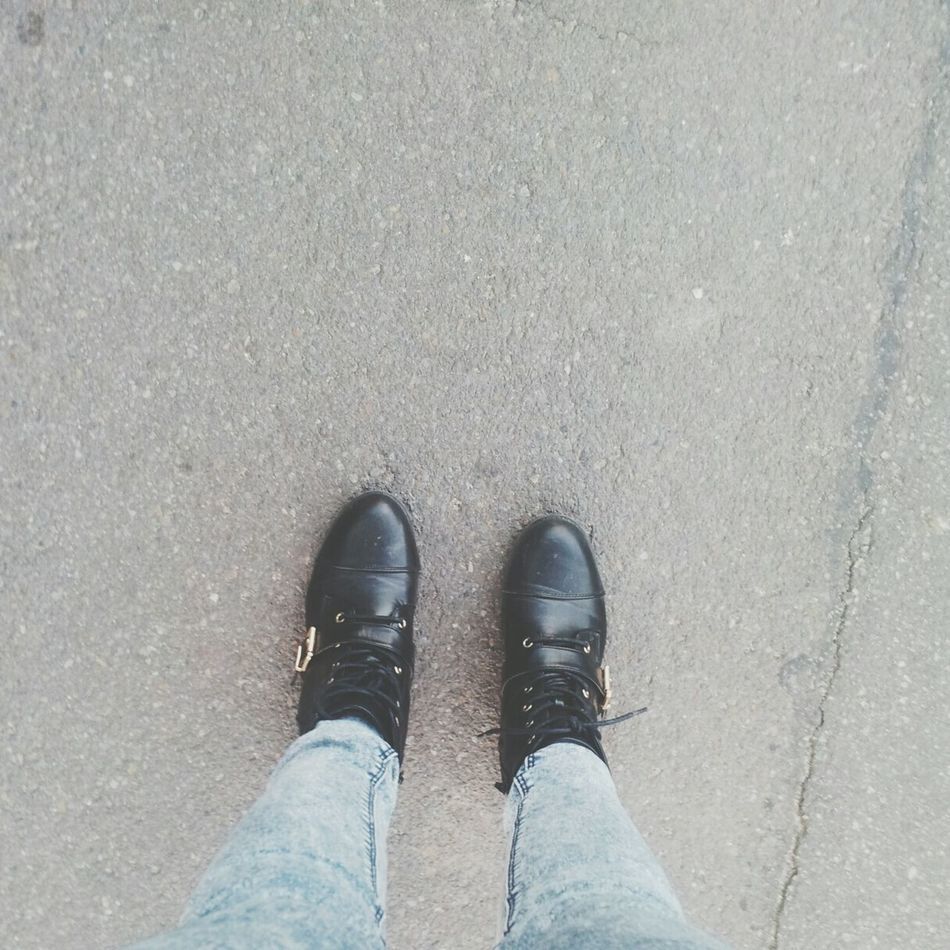 Well Whatsup?  Justsome Shoes Black Sunny Day Love Street Going Home Happy Bored