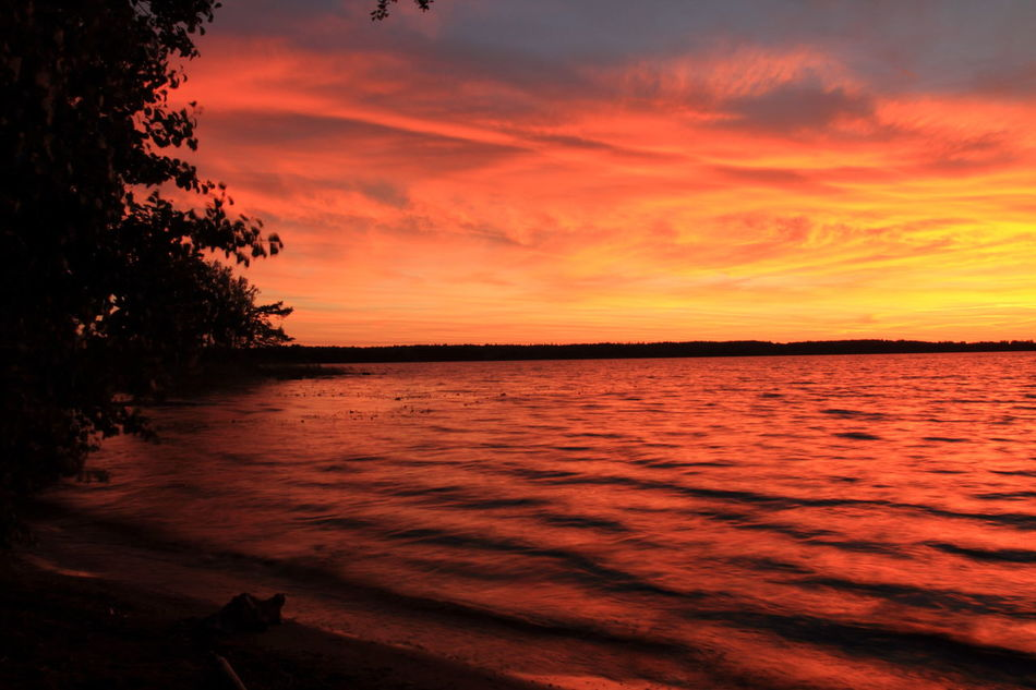 Beautiful stock photos of sweden, Bay, Beauty In Nature, Coastline, Moody Sky