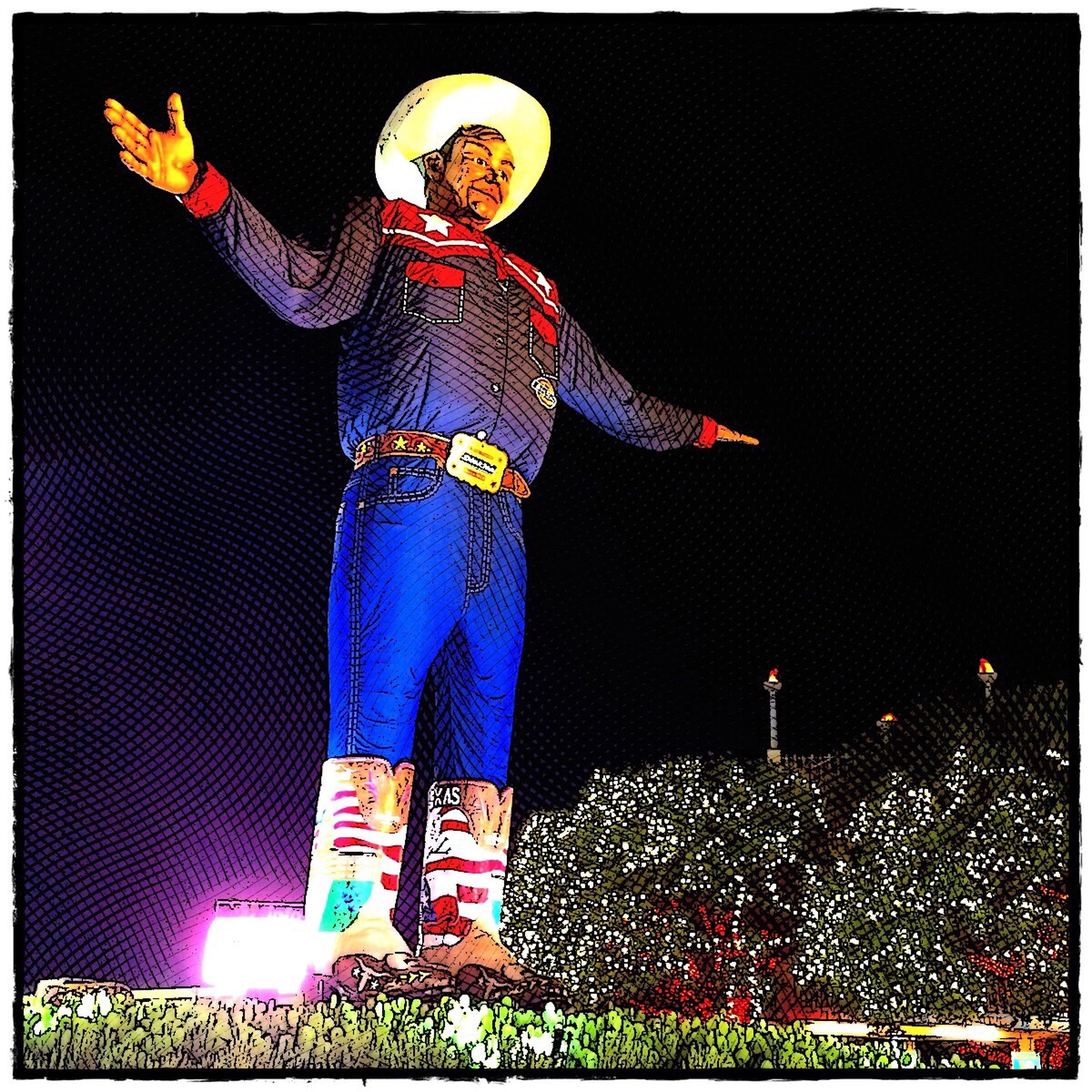 The New Big Tex Of 2014 Dallas- Texas State Fair Autumn