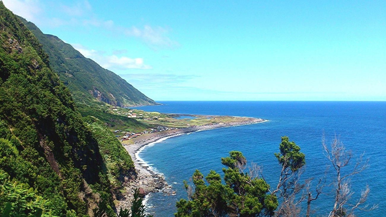 Fajã de Santo Cristo, Sao Jorge, Açores/Azores Travel Ocean View Azores São Jorge Traveling