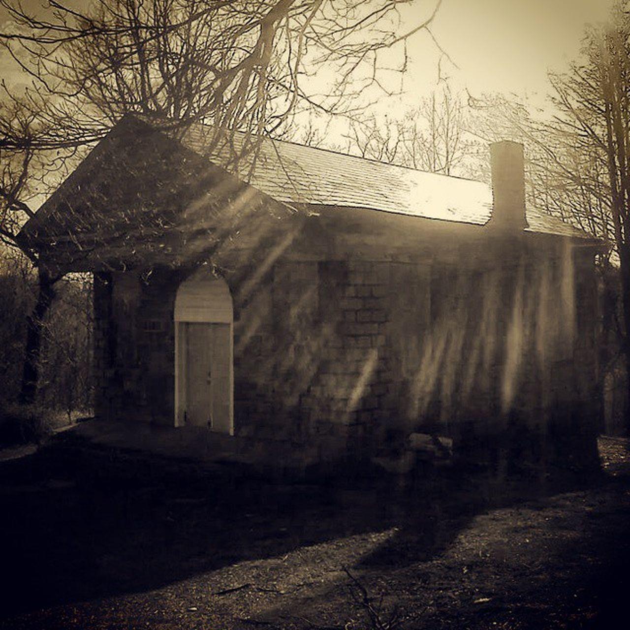 Nightofthelivingdead  Chapel EvansCity Cemetery Notld