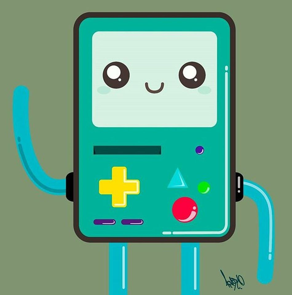 BMO Adventuretime Horadeaventuras Bmo Ilustracion Diseñográfico Vector Illustration Graphicdesign