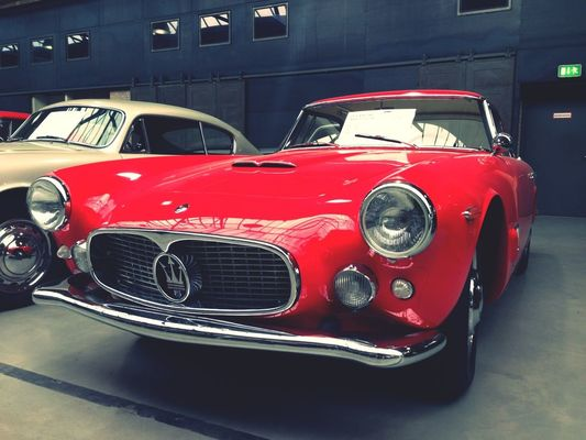vintage cars at Meilenwerk Berlin by Team Legacy