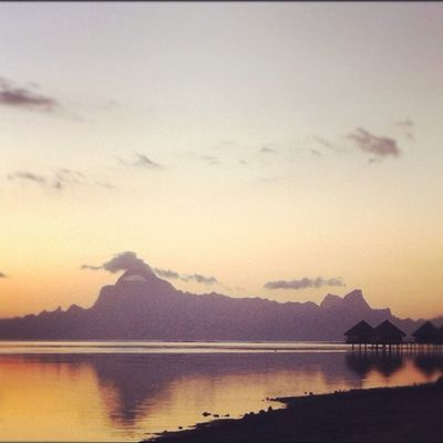 enjoying life at Between Tahiti And Moorea by Patti