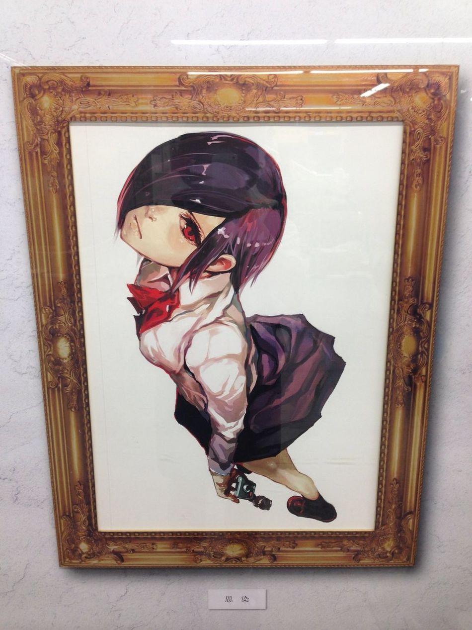 秋葉原 東京喰種 原画展示