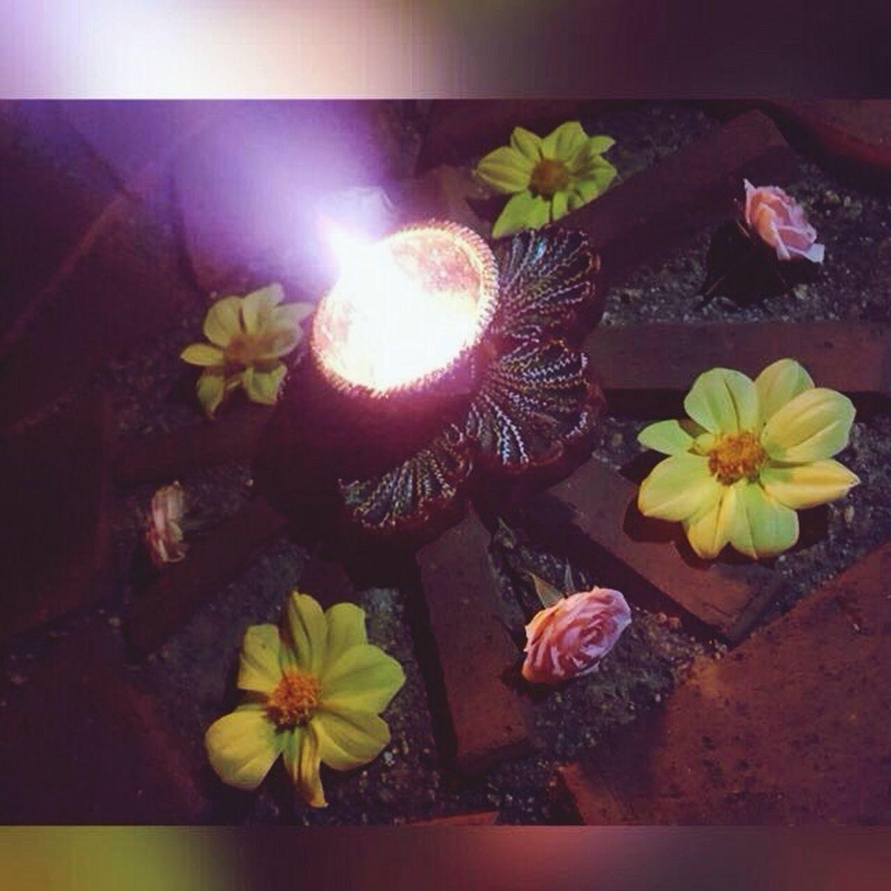 Diwali Lights Light Overcomes Darkness Close-up